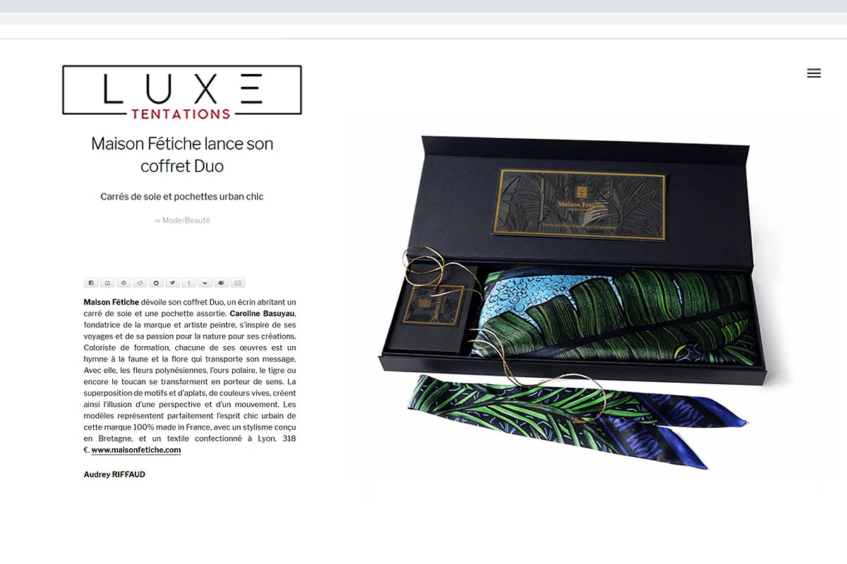 luxe tentation 20